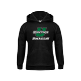 Youth Black Fleece Hoodie-Basketball