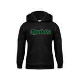 Youth Black Fleece Hoodie-Upstate