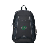 Impulse Black Backpack-Spartans U