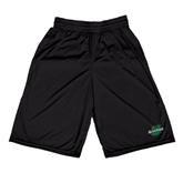 Russell Performance Black 10 Inch Short w/Pockets-Spartans U
