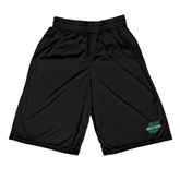 Russell Performance Black 10 Inch Short w/Pockets-Upstate U