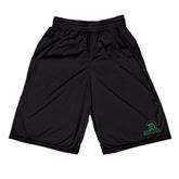Russell Performance Black 10 Inch Short w/Pockets-Upstate w/Spartan Head