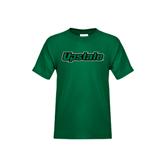 Youth Dark Green T Shirt-Upstate
