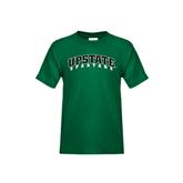 Youth Dark Green T Shirt-Upstate Spartans