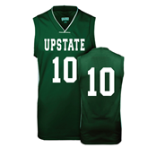 Replica Dark Green Adult Basketball Jersey-#10