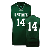 Replica Dark Green Adult Basketball Jersey-#14