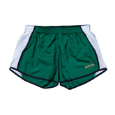 Ladies Dark Green/White Team Short-Spartans U