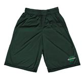 Performance Classic Dark Green 9 Inch Short-Spartans U