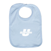 Light Blue Baby Bib-Spartans U