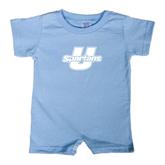 Light Blue Infant Romper-Spartans U
