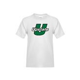 Youth White T Shirt-Upstate U