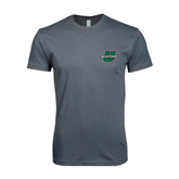 Next Level SoftStyle Charcoal T Shirt-Spartans U
