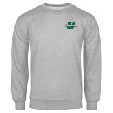 Grey Fleece Crew-Spartans U