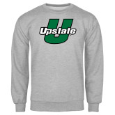 Grey Fleece Crew-Upstate U