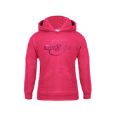 Youth Raspberry Fleece Hoodie-Spartans U