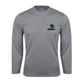 Performance Steel Longsleeve Shirt-Upstate w/Spartan Head
