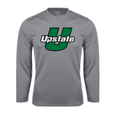 Performance Steel Longsleeve Shirt-Upstate U