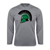 Performance Steel Longsleeve Shirt-Spartans Head