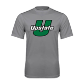 Performance Grey Concrete Tee-Upstate U