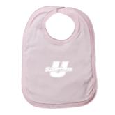 Light Pink Baby Bib-Spartans U