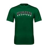 Performance Dark Green Tee-Upstate Spartans