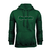 Dark Green Fleece Hood-Upstate