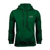 Dark Green Fleece Hood-Upstate U