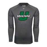 Under Armour Carbon Heather Long Sleeve Tech Tee-Upstate U
