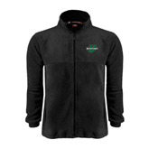 Fleece Full Zip Black Jacket-Spartans U