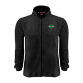 Fleece Full Zip Black Jacket-Upstate U