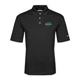 Nike Golf Dri Fit Black Micro Pique Polo-Spartans U