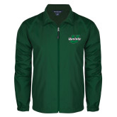 Full Zip Dark Green Wind Jacket-Upstate U