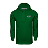 Under Armour Dark Green Performance Sweats Team Hoodie-Spartans U