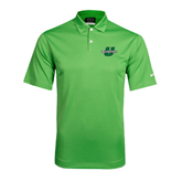 Nike Dri Fit Vibrant Green Pebble Texture Sport Shirt-Spartans U