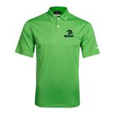 Nike Dri Fit Vibrant Green Pebble Texture Sport Shirt-Upstate w/Spartan Head