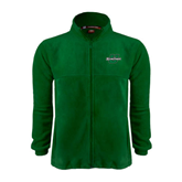 Fleece Full Zip Dark Green Jacket-Spartans U