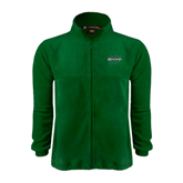 Fleece Full Zip Dark Green Jacket-Upstate U