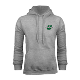 Grey Fleece Hoodie-Spartans U