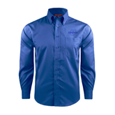 Red House French Blue Long Sleeve Shirt-Spartans U