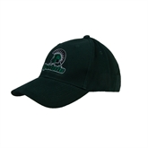 Dark Green Heavyweight Twill Pro Style Hat-Upstate w/Spartan