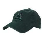 Dark Green Twill Unstructured Low Profile Hat-Upstate w/Spartan