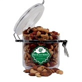 Deluxe Nut Medley Round Canister-Spartans  U