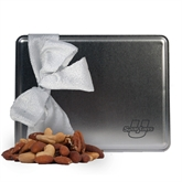 Deluxe Nut Medley Silver Large Tin-Spartans  U
