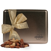 Deluxe Nut Medley Gold Large Tin-Spartans  U