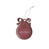 Pink Bulb Ornament-Spartans U