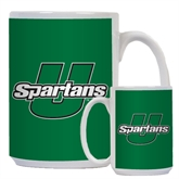 Full Color White Mug 15oz-Spartans U