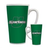 Full Color Latte Mug 17oz-Spartans U