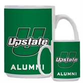 Alumni Full Color White Mug 15oz-Upstate U