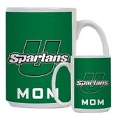 Mom Full Color White Mug 15oz-Spartans U