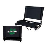 Stadium Chair Black-Spartans U